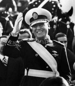 Juan Perón Presidente Electo en 1946