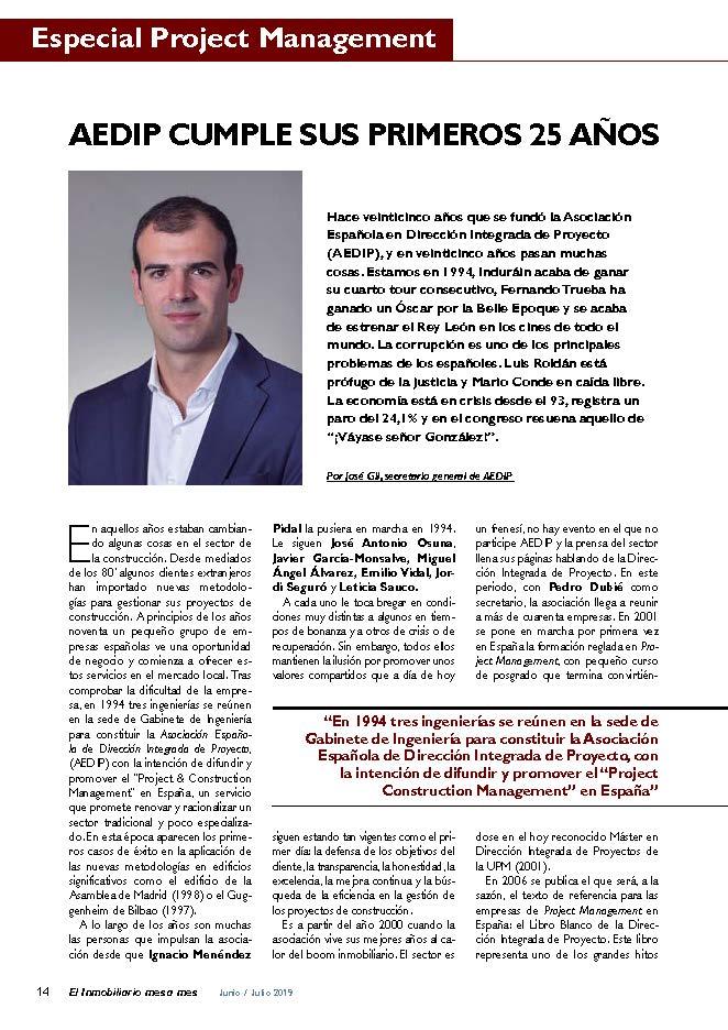 Reproducido del Numero 179 (Junio-Julio 2019), pagina 14, de la Revista El Inmobiliario Mes a Mes.